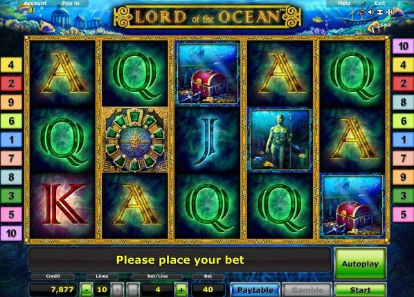 de online casino lord of ocean tricks